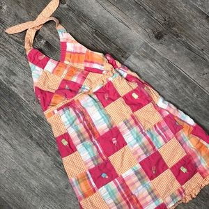 Gymboree Dresses - Gymboree Patchwork Halter Dress Size 7